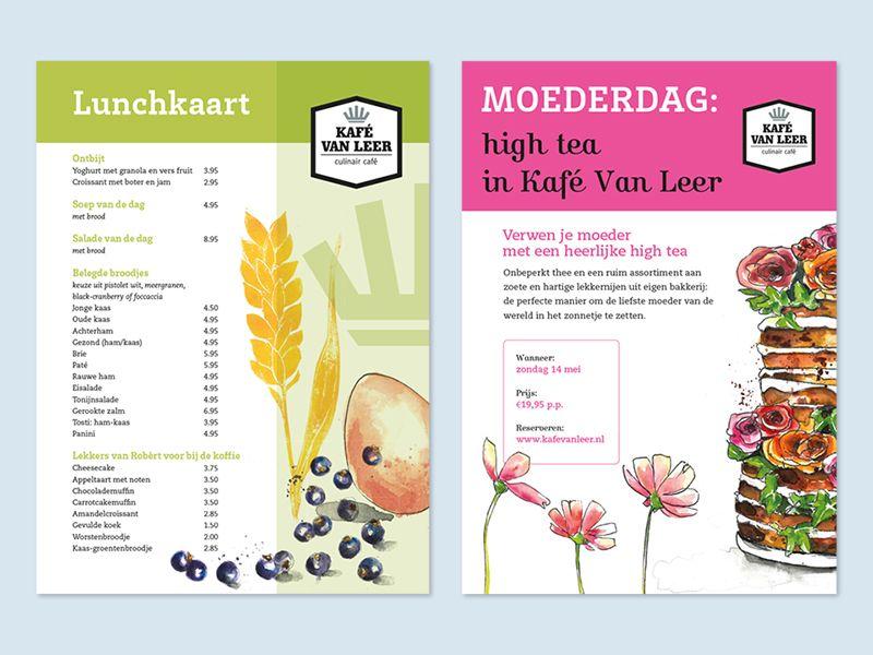 KVL menukaarten