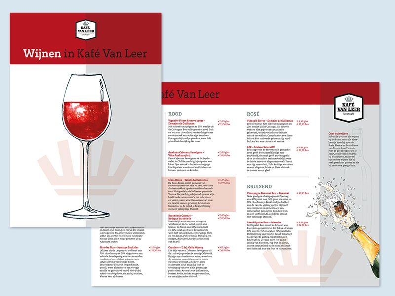 KVL wijnkaart