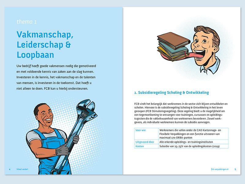 FCB Vitaal Verder brochure