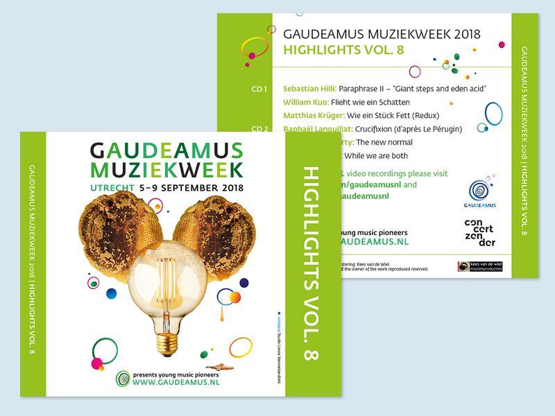 Gaudeamus CD hoesje